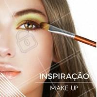 Olho tudo e boca com acabamento de gloss! Que tal? #Maquiagem #Makeup #Make #Inspiração #Inspiration #Beleza