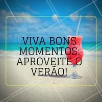 Aproveite para relaxar e cuidar da beleza na temporada mais quente do ano! #Ahazou #Verão #Summer #ViverBem