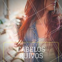Cabelos ruivos são tendência! #Ruivo #Cabelo #Hair #Tendência #Ahazou #haisrtyle #Ginger