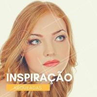 Inspire-se!  #ahazou #sobrancelhas #inspiração
