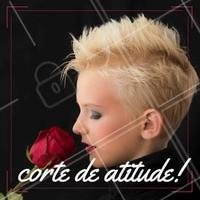Quem também amou esse corte? #Ahazou #MulheresDeAtitude #Cabelo #Hair #Colorido #Cores #Corte #Undercut