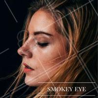 Smokey eye leve com tons de marrom não tem erro! Ideal pra qualquer ocasião! #ahazou #makeup