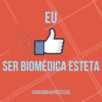 Gratidão por ser um biomédico esteta! Amor a profissão! #ahazou #amoraprofissão