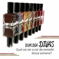 Agende seu horário! #salaodebeleza #manicure #ahazou #unhas #esmalteria #esmaltes #profissionaldabeleza