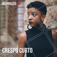 Crespo curto é tudo! #ahazou #crespodopoder #cabelocrespo #crespo #instabeauty #curls #curly