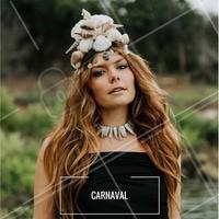 Inspiração para o carnaval! O look sereia está super trend! O truque é se jogar no glitter! #ahazou #makeup