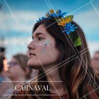 Inspiração para o carnaval! Aposte na coroa de flores pra deixar o look ainda mais especial! #ahazou #makeup