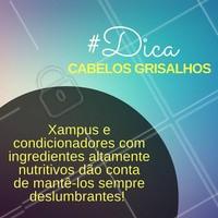 Anote! #Dica #Cabelo #Hair #Ahazou #Grisalho