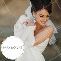 Inspiração perfeita para noivas! #ahazou #makeup