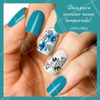 Dica para arrasar nas unhas! #Inspiração #Unha #NailArt #Ahazou