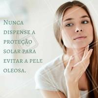 A proteção solar deve estar presente sempre! #ahazou #estética #peleoleosa #pele #saúde #bemestar #beauty