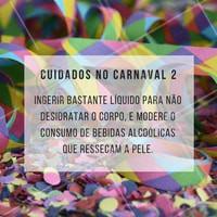 Evite bebidas alcoólicas, prefira a boa e velha água!  #ahazou #estética #carnaval #pele #saúde #bemestar #beauty