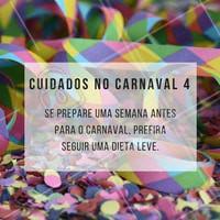 Se prepare para o carnaval e siga uma dieta leve!  #ahazou #estética #carnaval #pele #saúde #bemestar #beauty