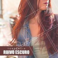 Aposte nos cabelos ruivos! #Cabelo #Hair #Ruivo #Ahazou #Cabeleireiro #Beleza #SalaoDeBeleza #Autoestima