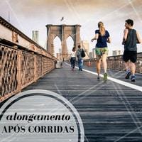 Alongar no pós-treino é indicado para promover relaxamento! #Alongamento #Dica #Saúde #Fitness #Ahazou