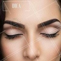 Para a maquiagem do dia a dia, aposte no delineador fino! #Dica #Inspiração #Ahazou #Make #Maquiagem #Makeup #Delineador