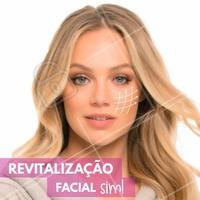 Revitalização facial consiste na aplicação de nutrientes e oligoelementos, em doses homeopáticas, através da pele. É um tratamento regenerador, nutritivo, rejuvenescedor e proporciona um equilíbrio na pele. Auxilia no retardo do processo natural do envelhecimento, dando mais viço e luminosidade. Procure um profissional e faça o seu tratamento! #ahazou #beauty #instabeauty #estéticacomamor #estéticaesaúde #bemestar #saúde
