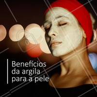 ARGILA SIM!  1- Favorece a reprodução celular integral, afinando e clareando a pele. 2- Promove a esfoliação da pele e do couro cabeludo. 3- Absorve toxinas e impurezas. 4- Promove a reconstituição dos tecidos. 5- Faz desintoxicação metabólica capilar, facial e corporal.  #ahazou #ahz #estética #estéticacomamor #estéticaesaúde #saúde #saúdeebemestar #bemestar #beauty