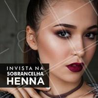 Consulte uma profissional! #Henna #Sobrancelha #DesignDeSobrancelha #Beleza #Ahazou