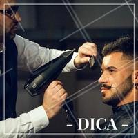 O secador ajeita os fios rebeldes, dá volume ao cabelo fino e ajuda a moldar os topetes. #Cabelo #CabeloMasculino #Hair #Ahazou