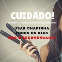 Quer mudanças ? Ligue agora e agende seu horário no salão #Dica #Cabelo #Hair #chapinha #SalaoDeBeleza #Beleza