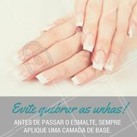 Unhas bonitas e saudáveis sempre! #Unha #NailArt #Nails