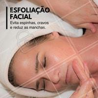 Estética & Beleza! #Ahazou #Dica #Esfoliação #Estética #TratamentoFacial #EsfoliaçãoFacial