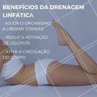 A drenagem linfática é uma massagem que traz muitos benefícios para o nosso organismo, dá uma olhada em alguns deles! #Benefícios #Drenagem #Saúde #Ahazou #Beleza #Instabeauty #DrenagemLinfática #TratamentoCorporal