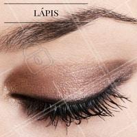 Invista no lápis para destacar e dar acabamento na make da região dos olhos! #Lápis #Makeup #Maquiagem