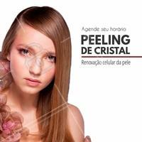 O peeling de cristal é uma esfoliação da pele seguida da aplicação de um ácido, que suaviza a textura, os poros abertos, as manchas e a acne. Ligue para nós para saber mais informações #peelingdecristal #esteticasaudavel #pelerejuvenescida #peeling #ahazou #tratamentofacial #autoestima #saude