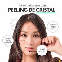 Além desses benefícios, o peeling de cristal é uma técnica não invasiva. Você precisa experimentar! #peelingdecristal #esteticasaudavel #ahazou #beleza #autoestima #rejuvenescimentofacial