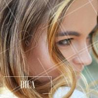 Para não deixar as madeixas amareladas, vale investir em produtos específicos para cabelos loiros. #Dica #Cabelo #Hair #Ahazou