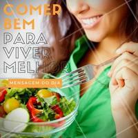 Comece essa semana de um jeito diferente, tente criar hábitos saudáveis e seguir uma alimentação balanceada, para levar uma vida ainda melhor! #Saúde #Alimentação #Hábitossaudáveis