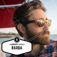 Para uma barba hidratada e com aparência saudável, que tal usar um óleo diário que ajuda a repor os nutrientes dos fios? Só cuidado para não exagerar e acabar com a barba oleosa! #Barba #Dicas #Hidratação