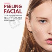 Quer dar um up na sua pele? Venha conhecer mais sobre os nossos tratamentos de peeling. #Estética #Pele #Cuidados #Beleza #PeelingFacial #Ahazou #TratamentoFacial #Autoestima