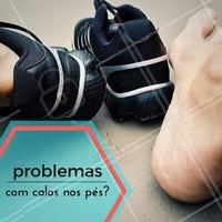 Seus problemas acabaram: o podólogo pode remover calos e as calosidades. Agende já o seu horário! #Podologia #PéSaudável #Cuidados #BelezadosPés #Calos #Ahazou