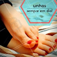 Cortar as unhas dos pés de maneira correta, além de uma questão de beleza e higiene, pode evitar problemas mais sérios como unhas encravadas. #Podologia #PéSaudável #Unhas #Cuidados #BelezadosPés #TratamentoPodologia #Ahazou