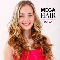Quem ama cabelo comprido e não tem paciência de deixar crescer acaba encontrando o Mega Hair! Mas não dá pra esquecer de alguns cuidados básicos, principalmente na hora da lavagem para os fios não embaraçarem e com o calor do secador ou da água muito quente do banho, que pode derreter a cola e fazer as mechas caírem. #Cuidados #Megahair #Cabelo #Ahazou #AutoEstima #Beleza #ApliqueCapilar