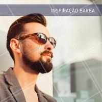 Hoje é dia de mudar o visual! #Barba #Inspiração #Visual