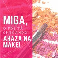 Partiu? #Maquiagem #Makeup #Ahazou