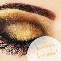 Ótima opção para a maquiagem da noite. Arrase nas festas! #Maquiagem #Makeup #Ahazou