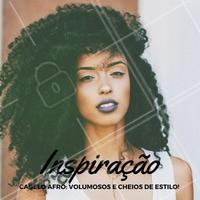 Afro power! #Cabelo #Hair #AfroHair #Ahazou