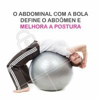 Venha fazer pilates e melhorar sua postura e condição física! #BemEstar #Saúde #AmoPilates #Ahazou #Abdomen #Pilates