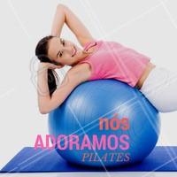 Um dos benefícos é a integração entre corpo e mente saudável para obter um organismo melhor. #Pilates #AmoPilates #Ahazou