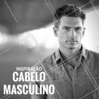Para os homens que desejam mudar o visual: inspirem-se! #Masculino #Barbearia #Hair #Cabelo #CabeloMasculino #Ahazou