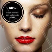 Se você também amou a tendência, deixe aqui nos comentários! #Batom #Maquiagem #Makeup #Gloss #Lipstick #Inspiração #Trend #Tendência #Ahazou