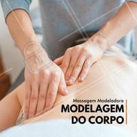 Corpo modelado é o que precisamos! #ahazou #massagem #beauty #beleza  #bemestar #massagemmodeladora