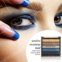 """A nova linha """"Runaway Bold"""" é para você fazer um olho tudo e ahazar na make! #Olho #Make #Marykay"""