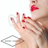 De olho na tendência: que tal combinar as unhas com a maquiagem? Inspire-se! #Maquiagem #Unha #Tendência #Ahazou #Inspiração
