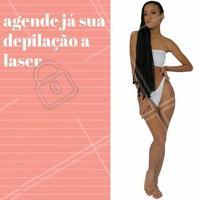 Não perca mais tempo, marque agora a sua depilação a laser! #depilação #laser #estéticacorporal #depilacaoalaser